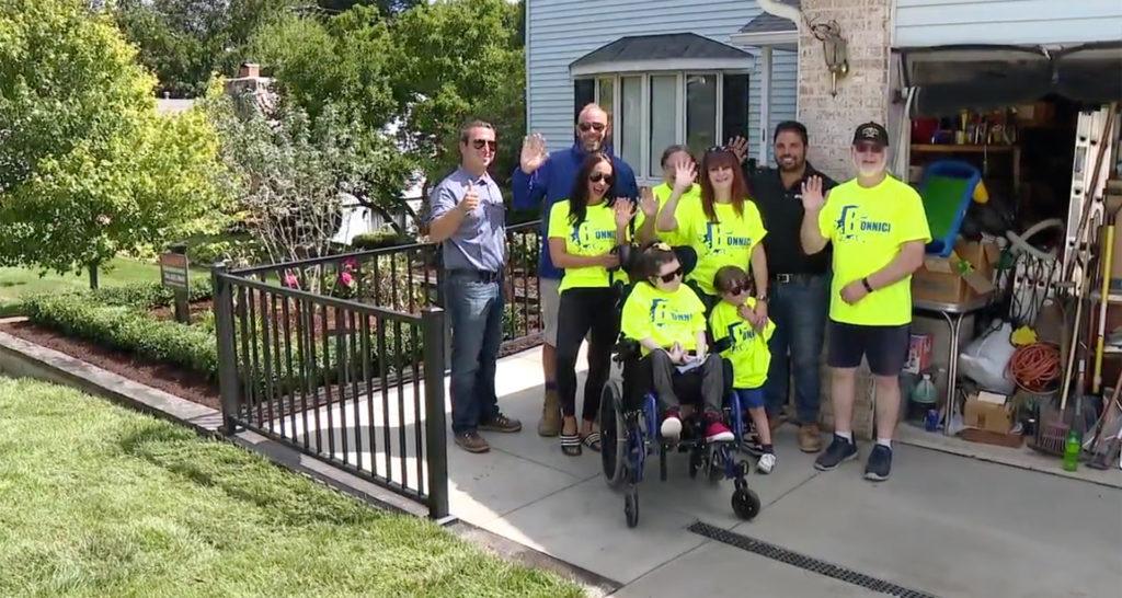 wheelchair ramp team